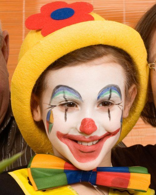 Clown Face Makeup Ideas | February 19, 2012 Style No comments
