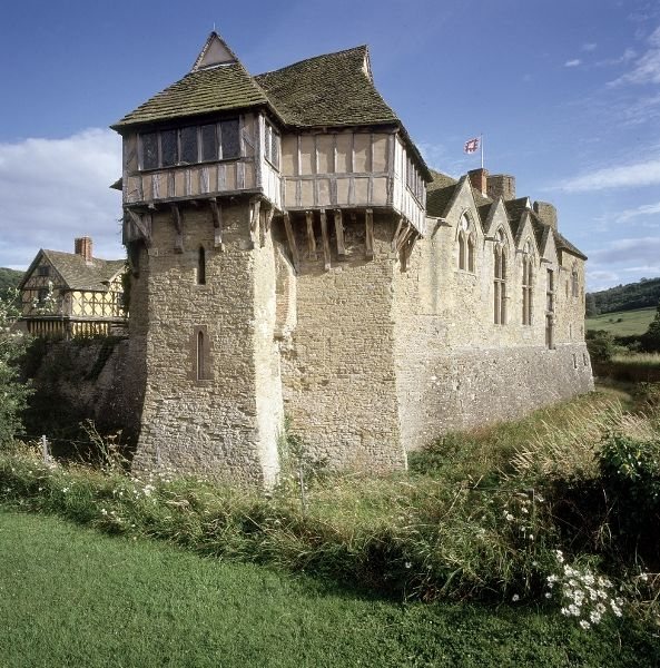 Stokesay Castle, Shropshire.