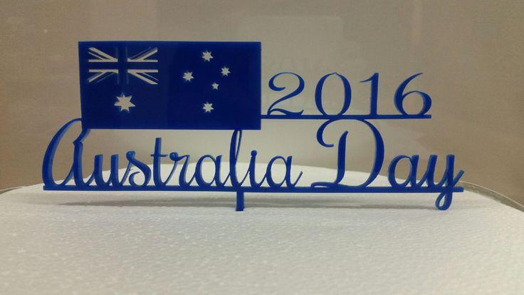 Australia Day Cake Topper