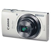 """Canon PowerShot 20 Megapixel Compact Camera - White - 2.7"""" LCD - 16:9 - 8x Optical Zoom - 4x - Digital (IS) - TTL - 5152 x 3864 Image - 1280 x 720 Video - HD Movie Mode"""