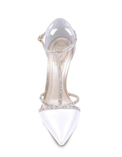 En Riomar fotógrafos nos gustan estos zapatos de novia de Rene Caovilla. http://riomarfotografosdeboda.com