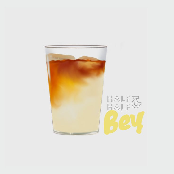 """All Of Our Drinks Begin With Imagination • Take The """"Bey"""" For Instance: Our Interpretation of The Arnold Palmer, Inspired By Beyonce Latest Album, Titled Lemonade. Artwork By: @meetellebrown"""
