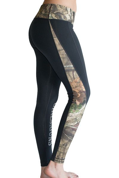 Running Pants - Black/Mossy Oak Break Up Country – Girls With Guns®