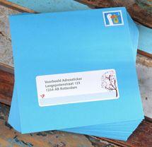 Als je een kaartje bestelt bij hipDesign kun je ervoor kiezen om deze direct door hipDesign te laten verzenden. Er worden dan adreslabels voor jou ontworpen die precies passen bij de stijl van jouw kaartje. Voor meer informatie kun je een kijkje nemen op: http://hipdesign.nl/adreslabels #geboortekaartje #geboortekaartjes #adreslabels #inspiratie