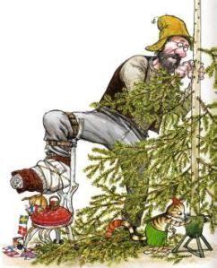 ''Pettson får Julbesök'' (Findus at Christmas)   by Sven Nordqvist