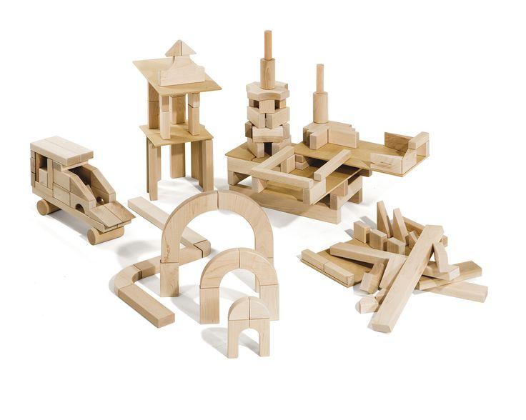 Preschool set unit blocks block construction pinterest
