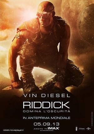 Riddick, nuovo film in uscita nelle sale italiane a fine Settembre. Azione e coraggio la faranno da padrone.