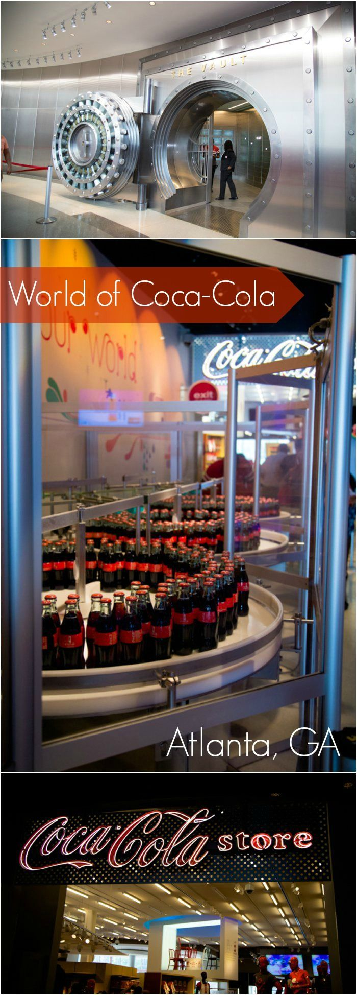 The World of Coca-Cola: The most unique museum I've ever seen. Great family spot if you're heading to Atlanta! Check out our favorite moments.
