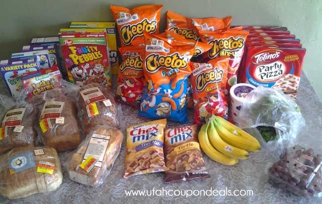 Smiths Grocery Shopping Trip with Coupons 6/5/13 - Spent $33.40 – Saved $55.52 – 62% savings