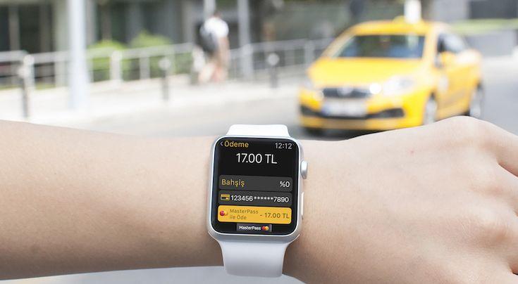 MasterPass ilk Apple Watch ödeme çözümünü Türkiye'de BiTaksi ile sunmaya başladı