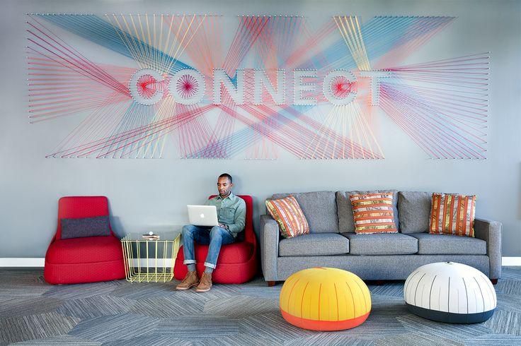 A Look Inside LinkedIn's Revamped Headquarters - Officelovin