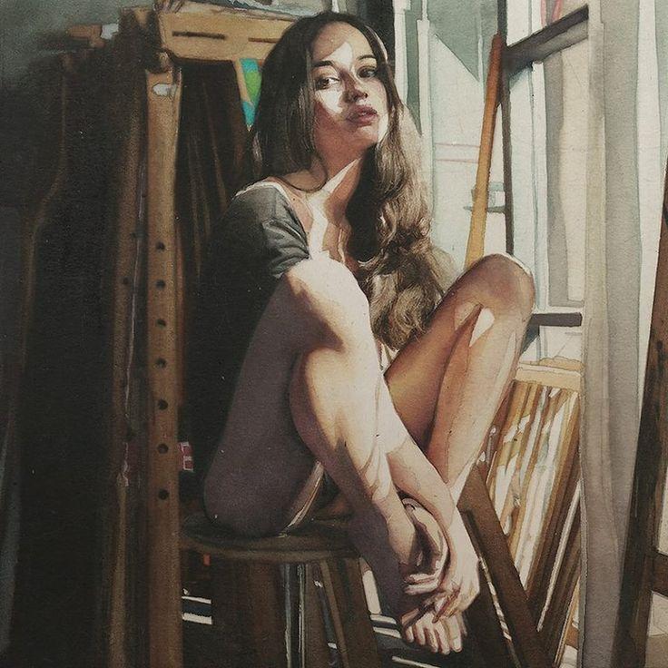 ARTIST: Marcos Beccari ~ (watercolorist)
