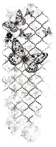 Kaisercraft - Texture - Clear Acrylic Stamp - Flutter at Scrapbook.com $2.99
