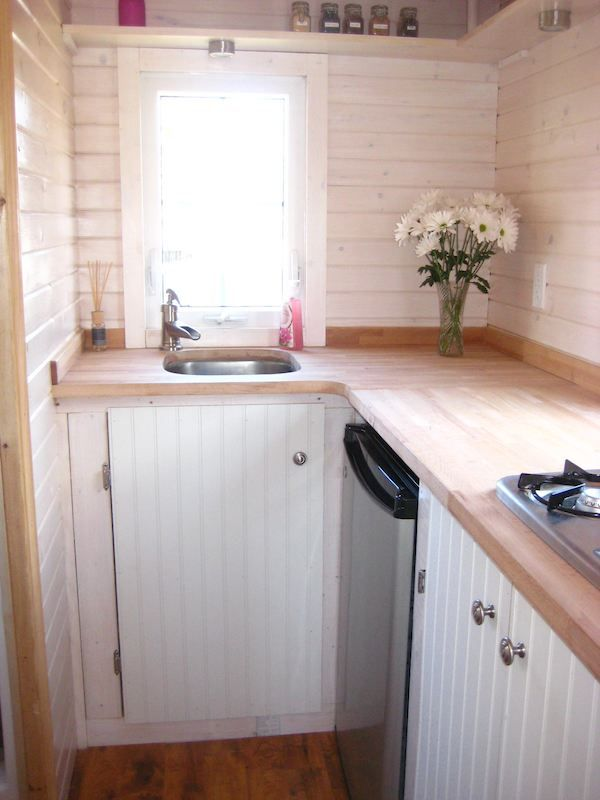 287 best Tiny House Kitchens images on Pinterest Small kitchens