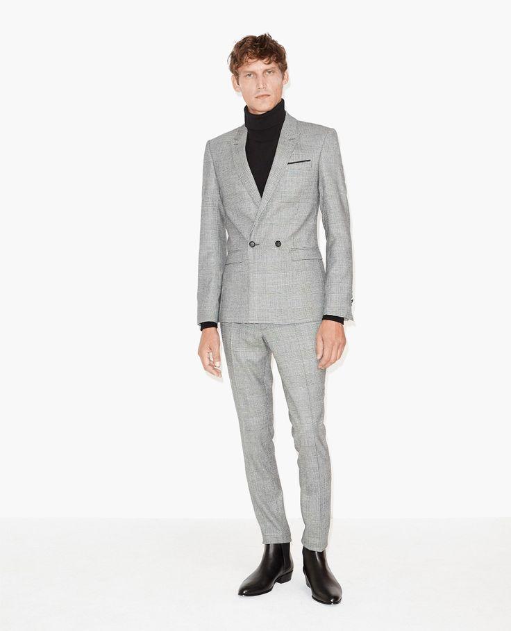 Veste de costume Prince-de-Galles - Vestes - The Kooples