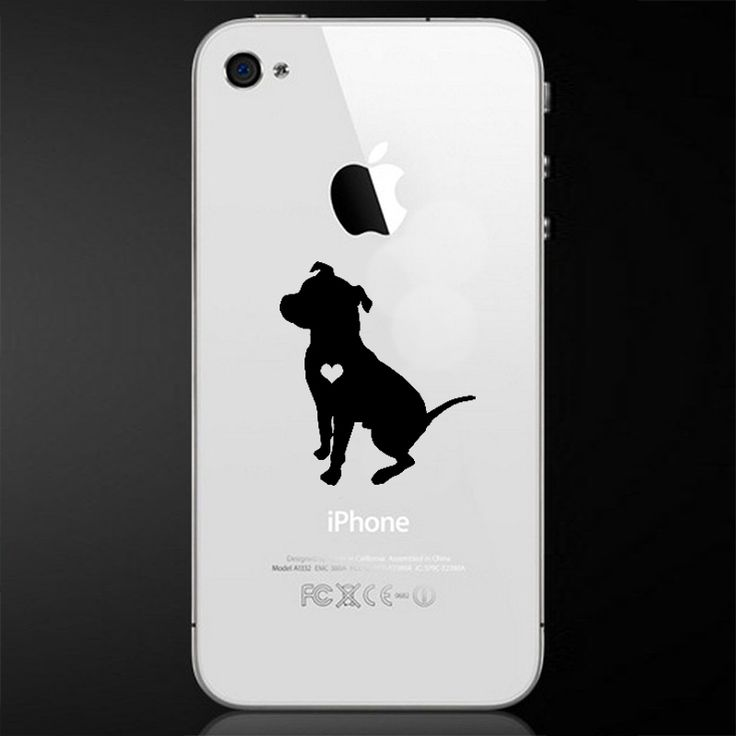 Sitting floppy ear pit bull phone decal sold by larry the dog shop more products from larry the dog on storenvy the home of independent small businesses