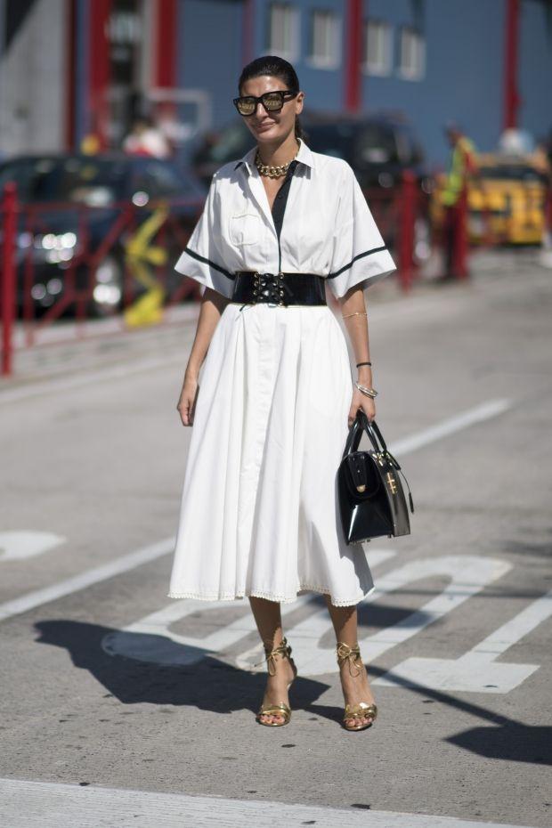 Джованна Батталья учит носить белое | Vogue Ukraine