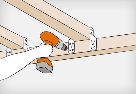 Dachkonstruktion aus Holz bauen