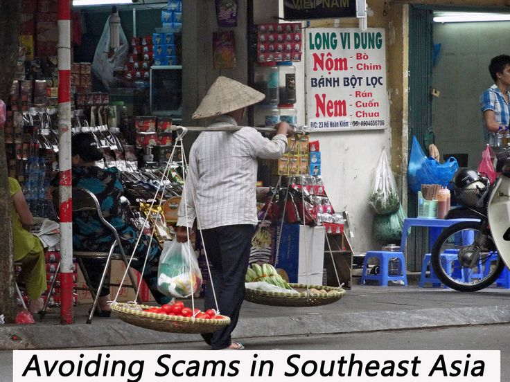 Easily Avoidable Scams in Southeast Asia