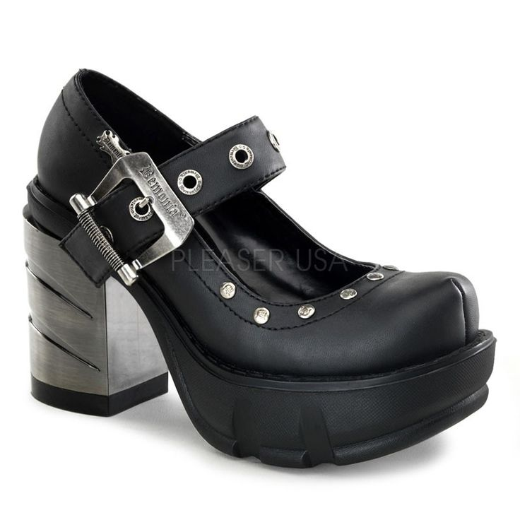92 best Hardcore Heels [Chunky Heel] images on Pinterest | Chunky ...