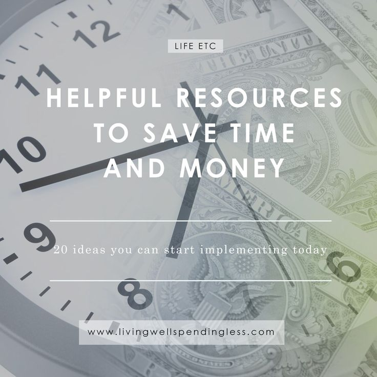 Don't miss these helpful resources to save time AND money.  With 20 ideas you can start implementing right away, it's the one post you can't afford to miss!