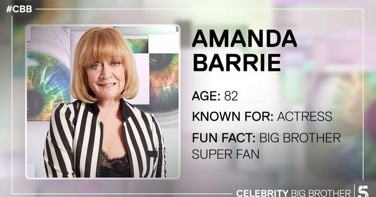 Amanda Barrie enters Celebrity Big Brother house