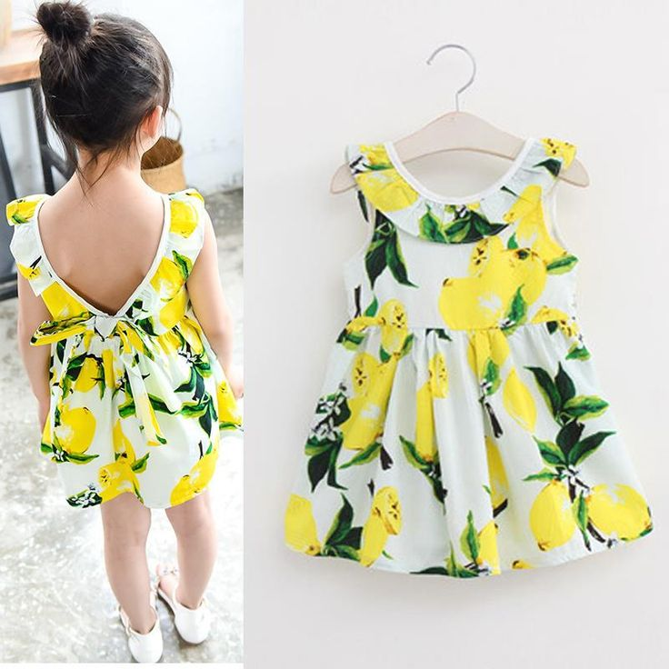Find More Dresses Information about Fashion Girls Lemon Dress Children Sundress Baby Girls Clothes V back Ruffles Bowknot Dress for Kids Girl Dress Summer 2016,High Quality dress up china girls,China clothes wrestling Suppliers, Cheap dress swan from Fashion Kids Wear on Aliexpress.com