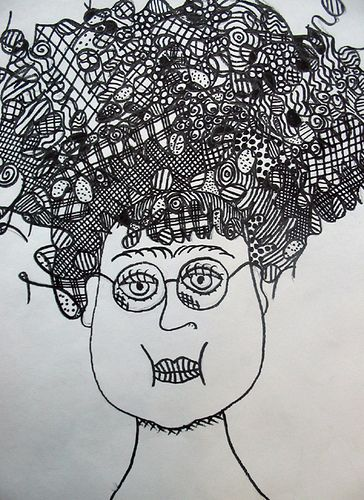 6th grade badhairday artwork for school pinterest doodles art lessons and middle school art