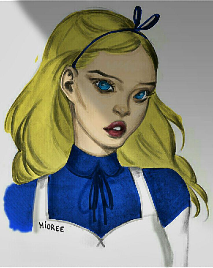 Alice in wonderland 😍