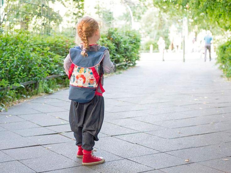 DIY-Anleitung: Bunten Kinderrucksack nähen via DaWanda.com