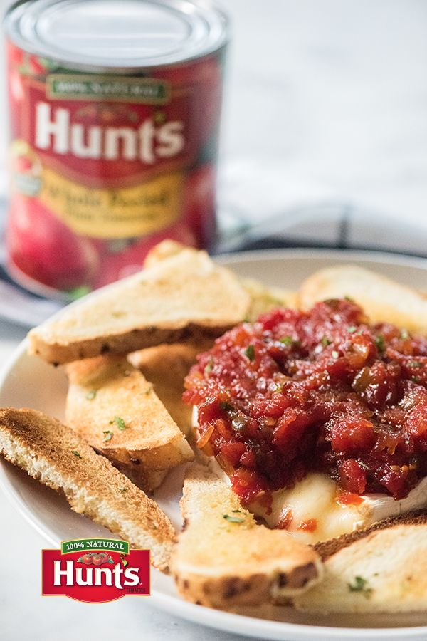 Since tomatoes aren't usually used in jam recipes, when they are, that's different. But here at Hunt's, we think it's good to be different. And speaking of jam, here's one of our favorite recipes! This one's tomato jam, which makes a super easy appetizer – courtesy of our friends at Real Housemoms.