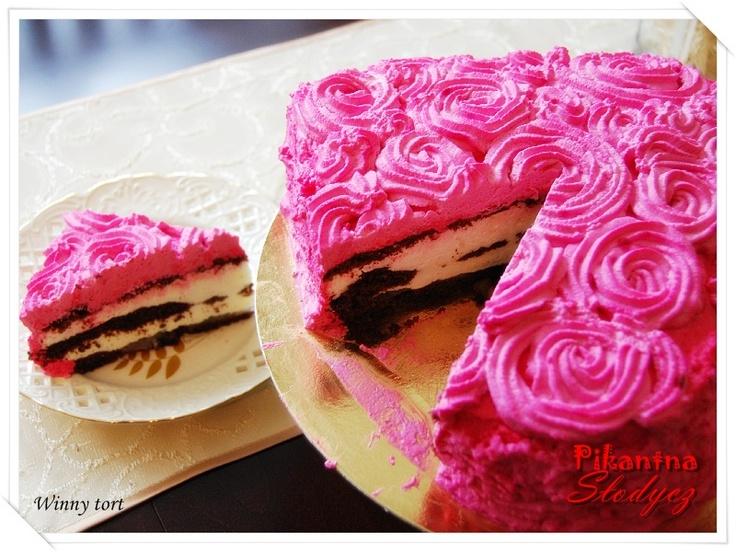Pikantna Słodycz: Winny tort