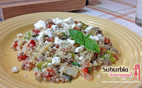 easy dinner recipe sausage couscous easy dinner recipes freedietfoods pinterest couscous recipe and dinner