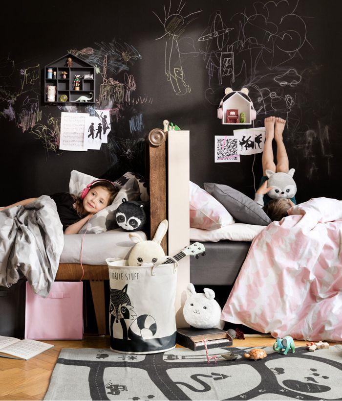 H&M home kids collection #sharedkidsroom #sibblingroom #kidsroom