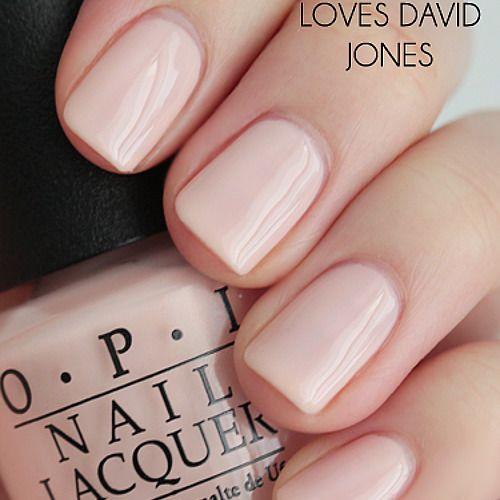 9.95AUD – Opi – Opi Loves David Jones – E70 Pink Nude Sheer Creme Nail Polish 15…