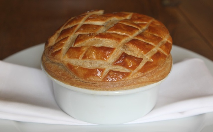 How much deer is in this pie? Roedeer & vegetable pie...mouth-watering
