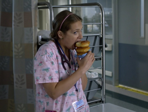 #Zoe on Nurse Jackie...hilarious!