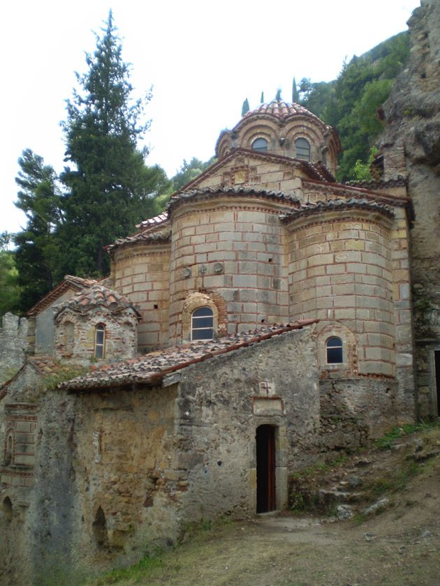 The 14th Century Church and Monastery of Peribleptos, Mystras