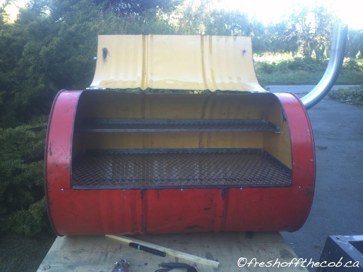 Harbor Freight Electric Smoker : Best ideas about oil drum bbq on pinterest barrel