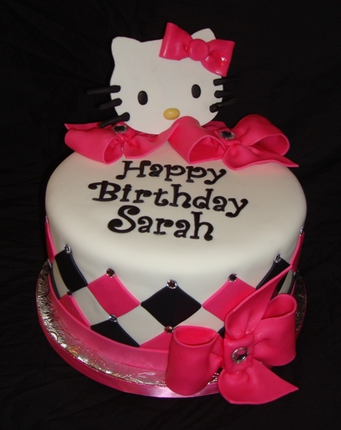 Happy Birthday Cake To Sarah