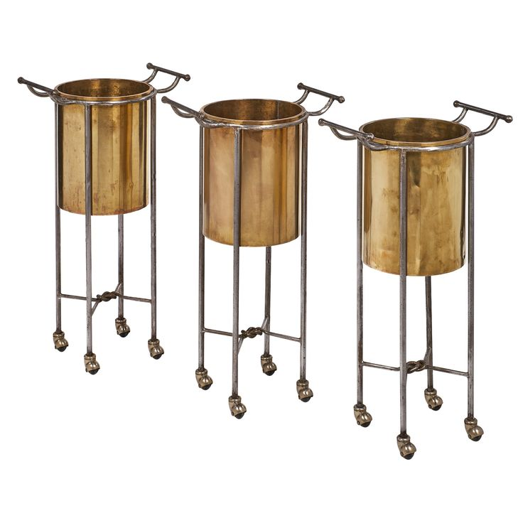 French Antique Champagne Buckets | JMF #champagne #Antique #partydecor