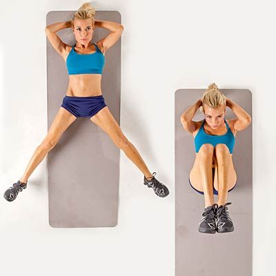 Split and Tuck: Tracy Anderson workout to tone trouble areas. Sure, some spots are tougher to tone than others (hello, bat wings), but it is possible to get results. Here's how.