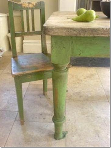 Annie sloan Chalk Paint color Antibes Green