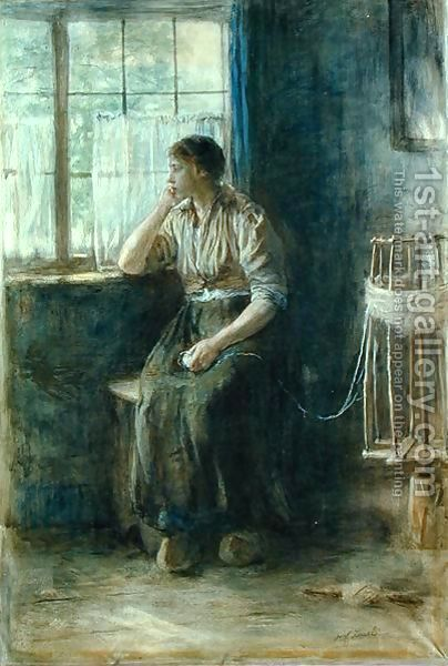 Jozef Israels - Woman at the Window