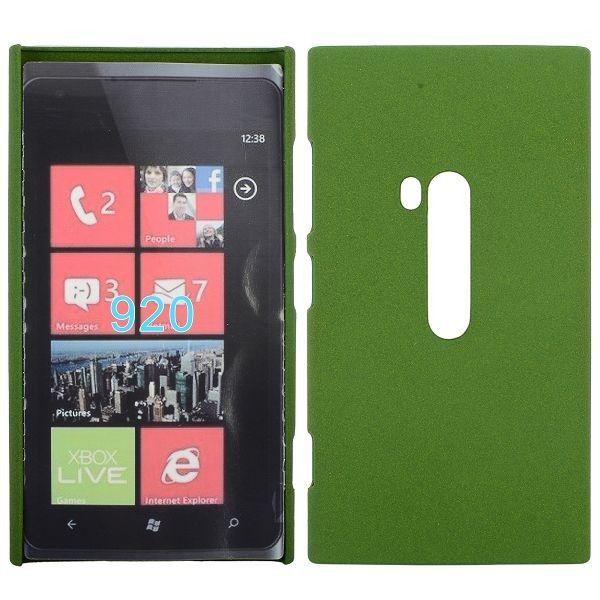 Rock Shell (Vihreä) Nokia Lumia 920 Suojakuori