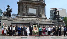 Conmemora Gobierno de Oaxaca legado libertario de 1810 en la Columna de la…