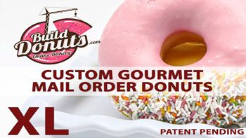 12 GOURMET DONUTS DELIVERY ⋆ Mail Order Donuts Designed By You