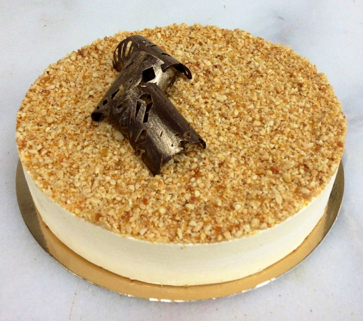 Peanut brittle cheesecake | Perfect Patisserie | Pinterest ...