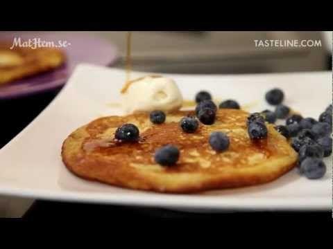 American Pancakes - Recept - Tasteline