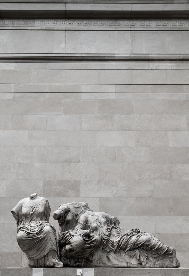 Headless Pediment by Dimitri Androutsos